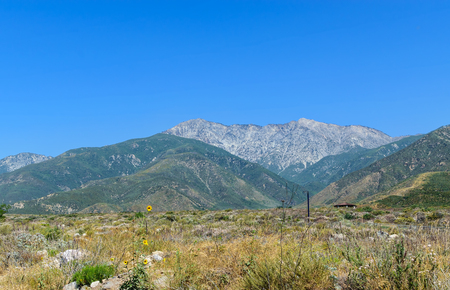 Mt. Baldy in Southern California Stockfoto