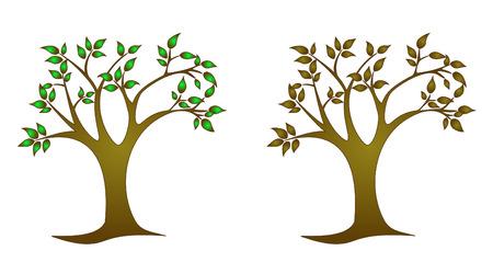 Monochrome  trees