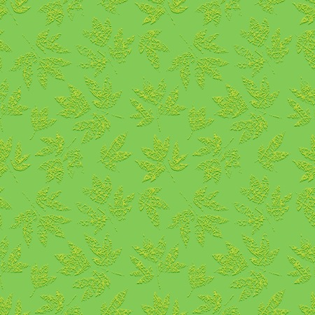 gossamer: Green grunge floral seamless pattern with embossed print of scratched leaves peony