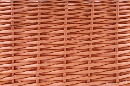 Woven texture background from natural rattan handicrafts