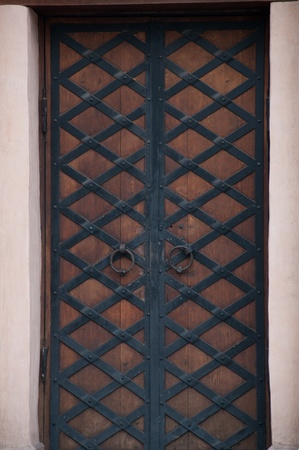 close-up image of ancient doors Stock Photo - 13117428