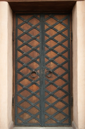 close-up image of ancient doors Stock Photo - 13117424