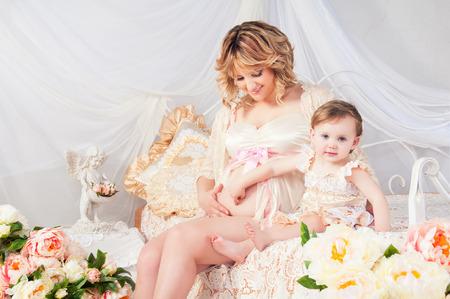 Pregnancy, children, family - Gods blessing. photo