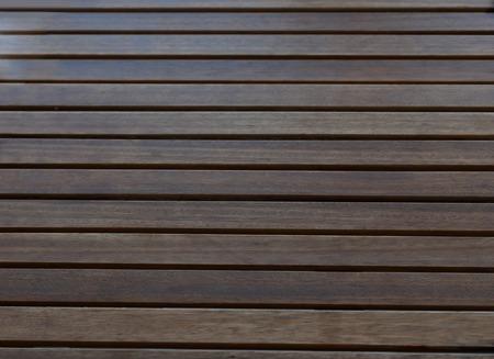 Dark brown wood lath background ad texture Stock Photo