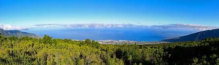 Spain, Canary Islands, Tenerife, panoramic view to Puerto de la Cruz