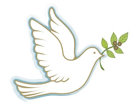 perdonar: Paloma de la paz