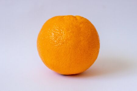 oranges on a white isolated background