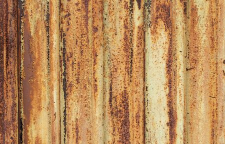 Texture of rusty metal. Rusty metal close-up texture background. Rusty metal wall