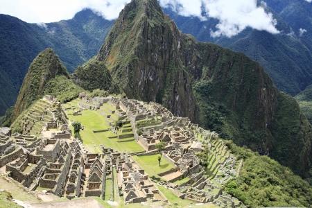 machu picchu: Historic Lost City of Machu Picchu - Peru
