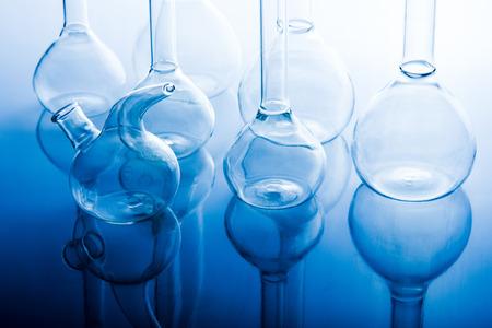 erlenmeyer: Science laboratory flask glassware