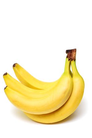 bannana: Bannana yellow on white background Isolated