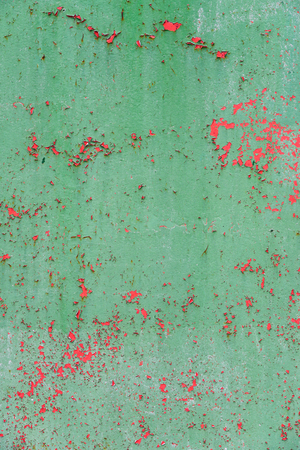 of irradiated: Grunge vintage metal background with old Irradiated paint Stock Photo