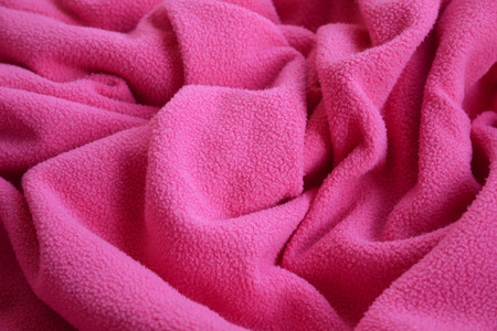 Fabric background, woolen clothes, abstract shape, fabric waves