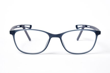 Modern Glasses eye wear for kids and children on white background 写真素材