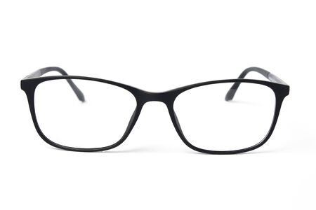 Glasses eyewear frame on white background 写真素材