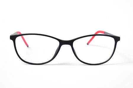 Glasses for child or kids on white background