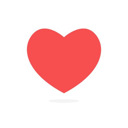red heart, Vector icon Heart Icon Vector heart icon heart - Vector icon