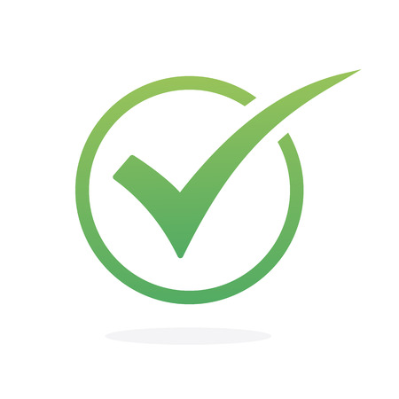 check icon vector. check mark icon. check list icon Illustration