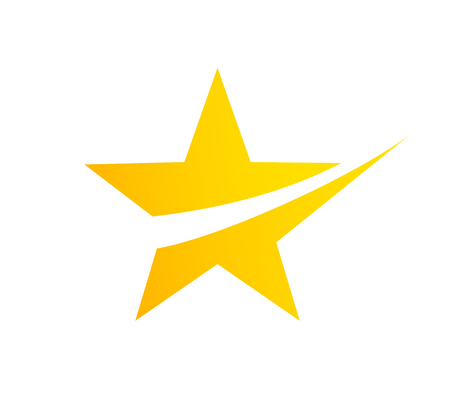 Abstract star logo design template elements