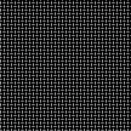 Vector pattern of metal grid seamless background. Iron grill endless texture. Web page fill pattern