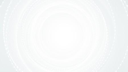Vektor gestreiften spiralförmigen abstrakten Tunnel hellen Hintergrund. Spiraltrichter. Graues verdrehtes Strahlenglühenzentrum. Aufregend nutzt sanft die optische Täuschung abstraktes weißes elegantes modernes Wirbelperspektivengitter