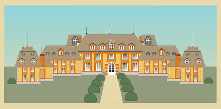palace, castle, vector Stock Vector - 8976483