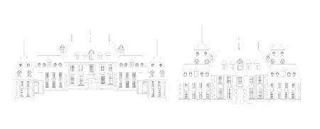 turret: castle, vector Illustration