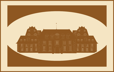 castle, vector vintage Stock Vector - 9047302