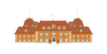 maison de maitre: le palais, vecteur