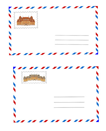 Envelopes vector Stock Vector - 9047327