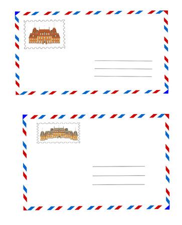 Envelopes vector Stock Vector - 9047327