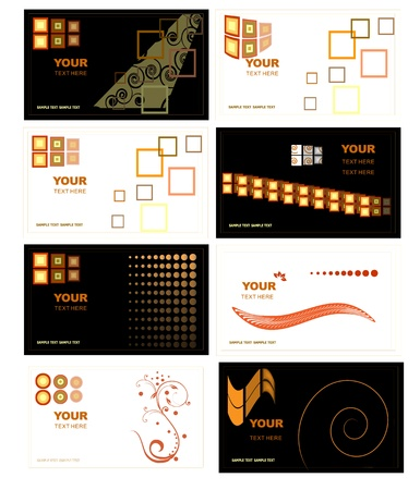 Business Card vector Vector