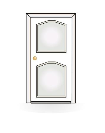 doorframe: vector de puerta