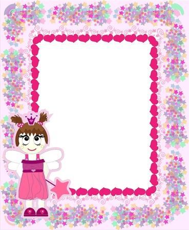 Princess card Stock Vector - 10328422