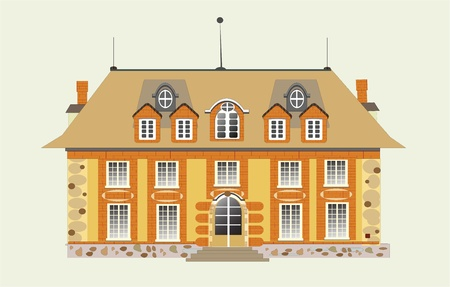 house vector Stock Vector - 10366335