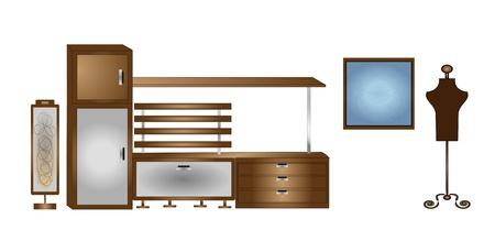 bedside: furniture