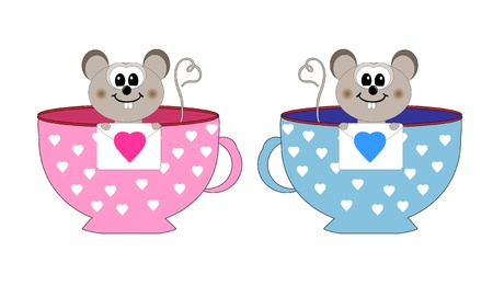 love the mouse vector Stock Vector - 12192446