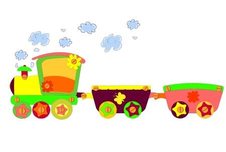Funny train Stockfoto - 12838035