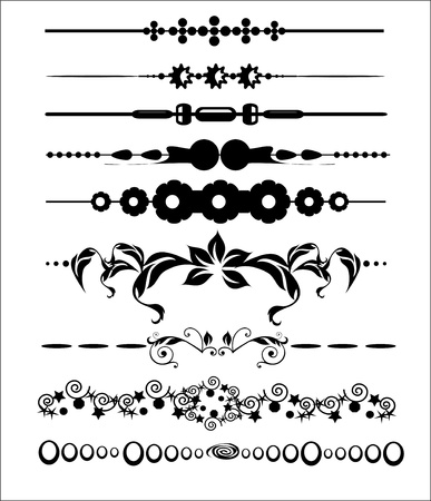 Ornamental and Page Decoration Design Elements