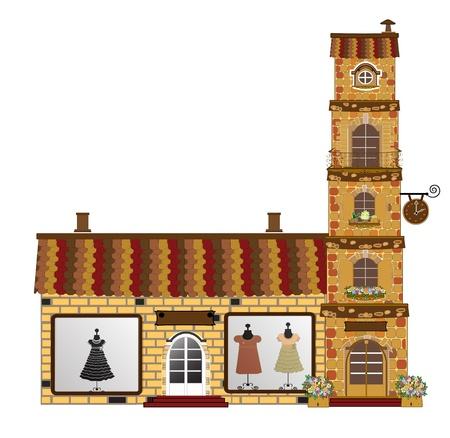 facades Stock Vector - 15052110