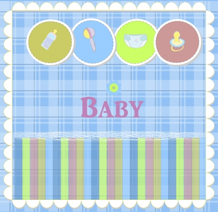Baby card designs for birthday card newborn and others Vector