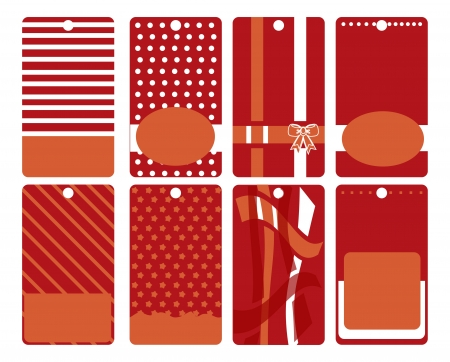 Set of sticker. label pattern isolated  Stock Photo - 19800532