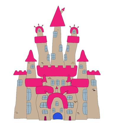Vector Illustration of a Cartoon Castle Stock Vector - 22857607
