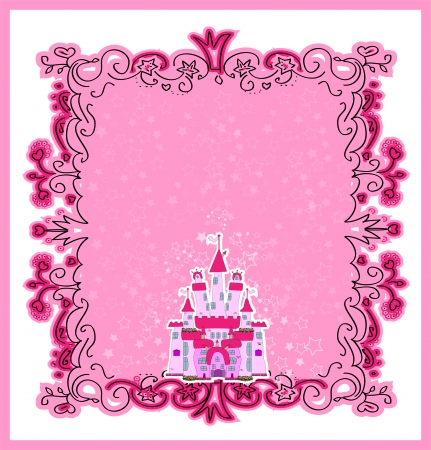 Illustration of Magic Fairy Tale  Princess Castle Stock Vector - 22857367