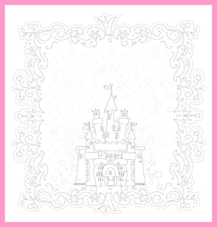 Illustration of Magic Fairy Tale  Princess Castle Stock Vector - 22857370