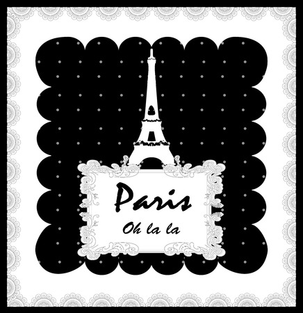 "Touristic Retro Vintage Greeting sign, Typographical background ""Greetings from Paris"", Vector design. Texture effects can be easily turned off."