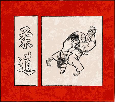 self training: Third Judo fight stage five