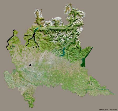 Cartina Satellitare Lombardia.Foto Mappa Lombardia Immagini E Vettoriali