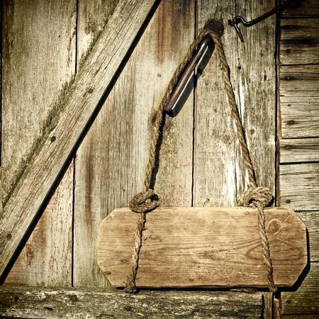 Closed door with doorplate Stock Photo - 9531658