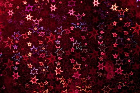 holographic: Red holographic paper texture  Christmas background